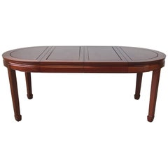 Rosewood Ming Style Dining Table with Two Leaves, 1960s