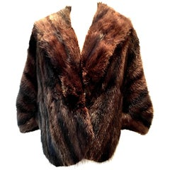 1960'S Mink Fur Capelet By, Joseph Noonan Furs