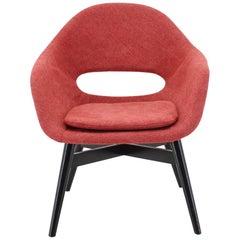 1960s Miroslav Navratil Fiberglass Shell Lounge Chair, Czechoslovakia