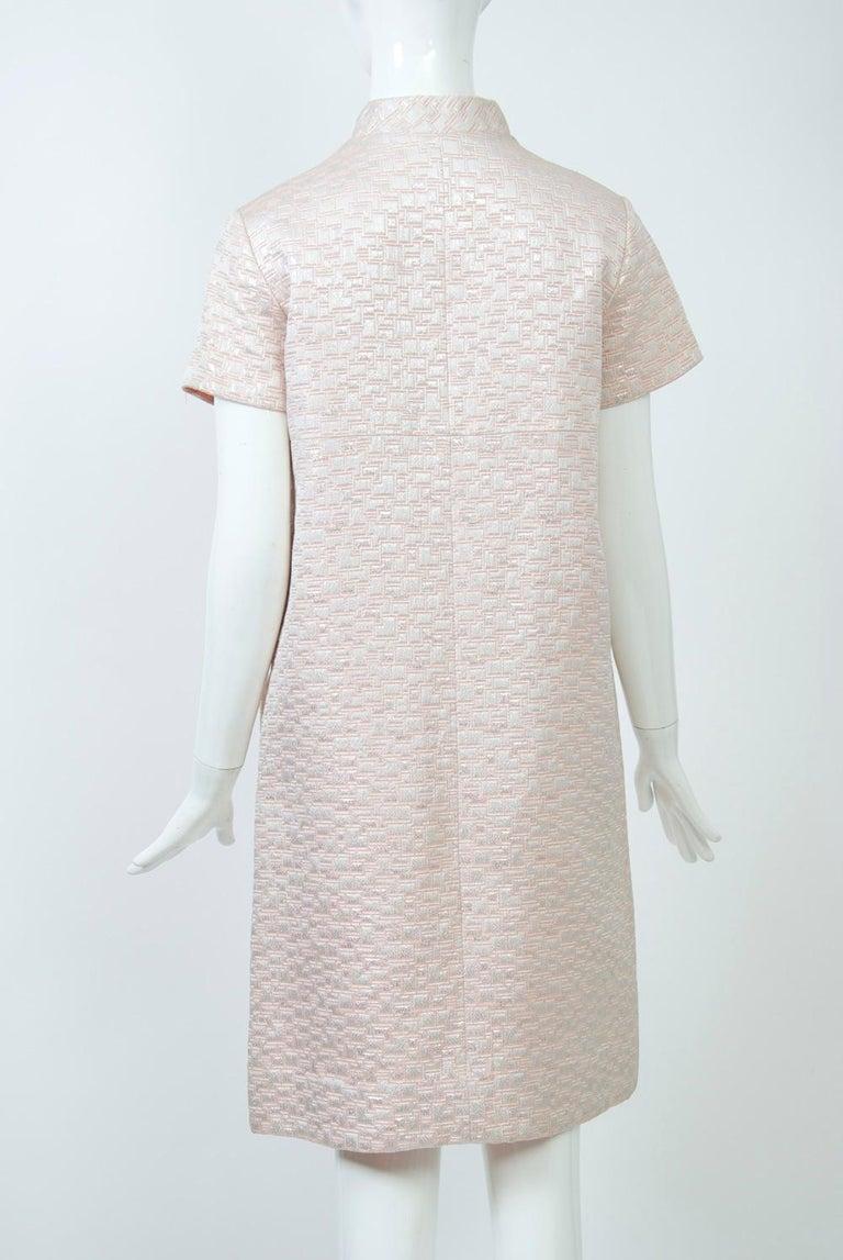 1960s Mod Brocade Dress, Don Sophisticates For Sale 1