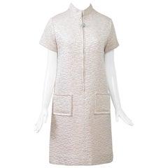 1960s Mod Brocade Dress, Don Sophisticates