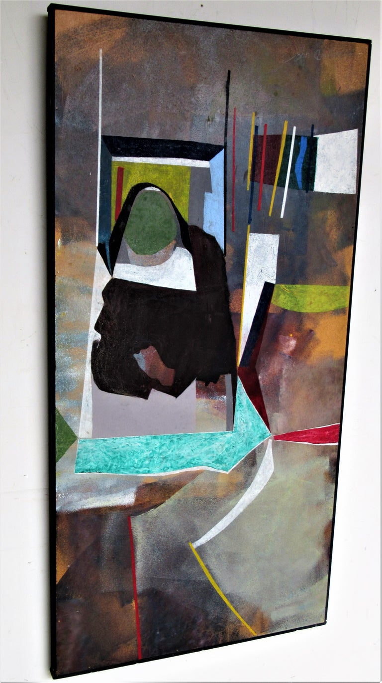 1960s Modern Abstract Painting by John Anderson For Sale 3