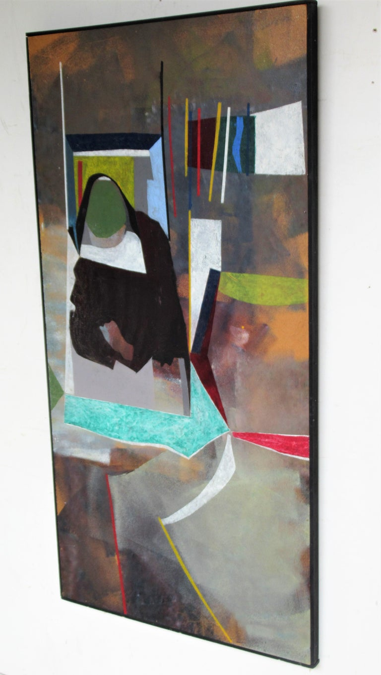 20th Century 1960s Modern Abstract Painting by John Anderson For Sale