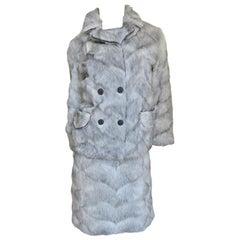 1960s Mr G Fur Dress and Jacket