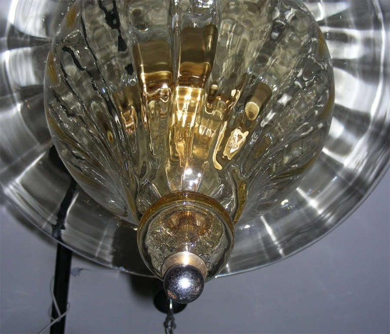 Mid-20th Century 1960s Murano Glass Lantern by Venini For Sale