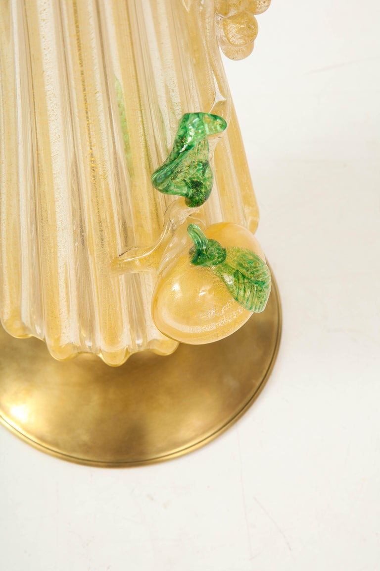 1960s Murano Glass Table Lamp For Sale 5