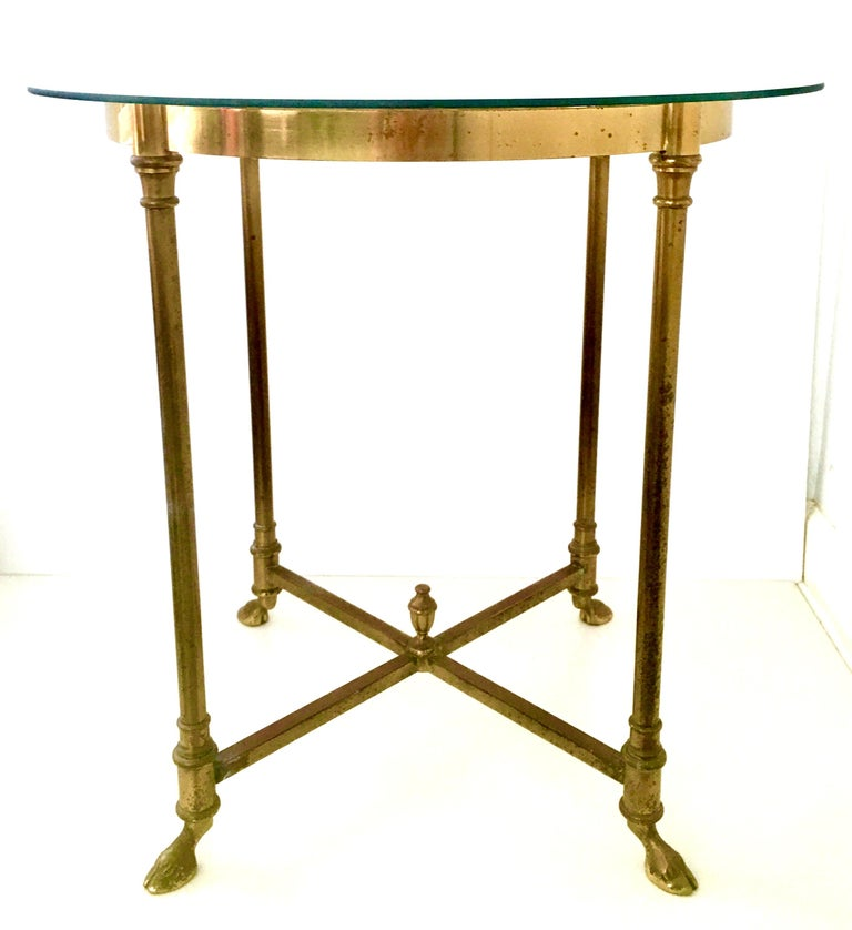 1960s LaBarge style Italian solid polished brass