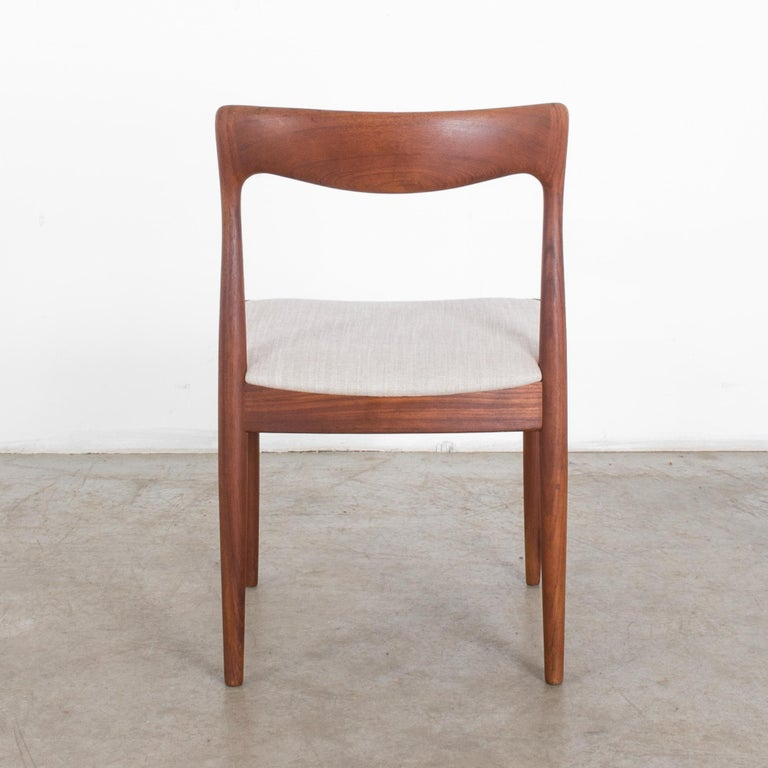 1960s Niels O. Møller Teak Chair In Good Condition For Sale In High Point, NC