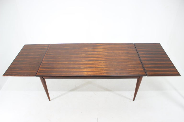 Danish 1960s Niels Otto Møller Large Model 254 Palisander Dining Table for J.L. Møllers For Sale