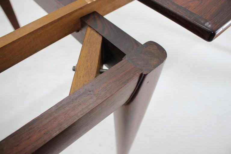 Wood 1960s Niels Otto Møller Large Model 254 Palisander Dining Table for J.L. Møllers For Sale