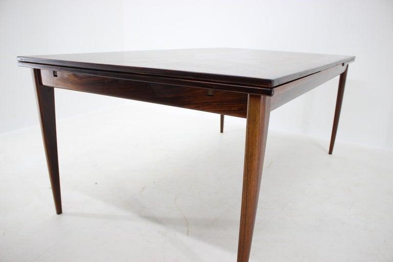 1960s Niels Otto Møller Large Model 254 Palisander Dining Table for J.L. Møllers For Sale 1