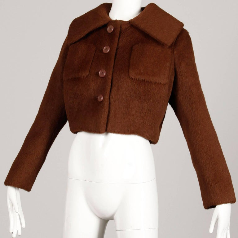 1960s Norman Norell Vintage Jacket In Excellent Condition For Sale In Sparks, NV