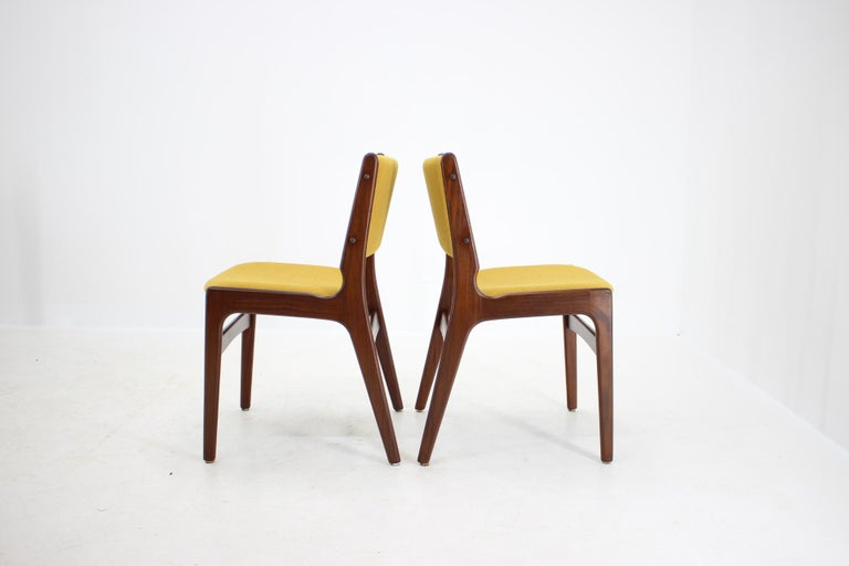 Mid-20th Century 1960s Nova Mobler Danish Teak Dining Chairs, Set of 4 For Sale