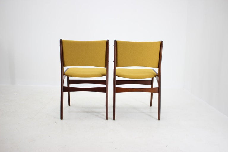 1960s Nova Mobler Danish Teak Dining Chairs, Set of 4 For Sale 1