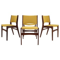 1960s Nova Mobler Danish Teak Dining Chairs, Set of 4