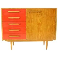 1960s Oak Cabinet, Czechoslovakia