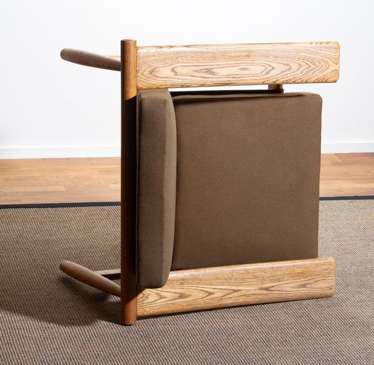 1960s Oak Lounge Chair Livingroom Set from Denmark in GETAMA Style For Sale 5