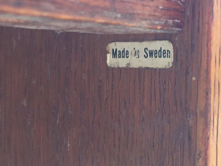 Bernt Petersen Oak and Laminate Desk For Sale 8
