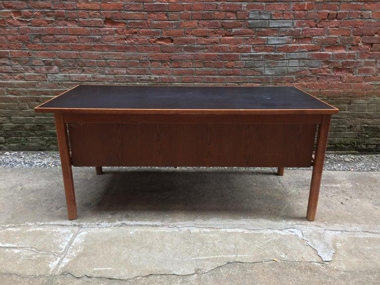Bernt Petersen Oak and Laminate Desk For Sale 1