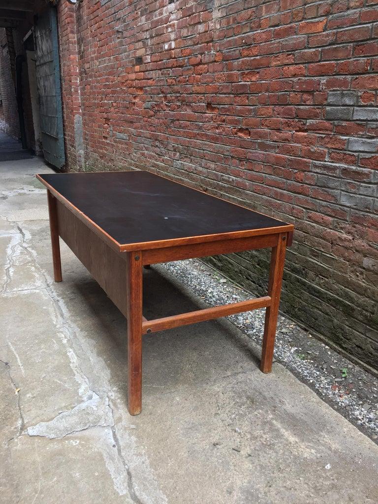 Bernt Petersen Oak and Laminate Desk For Sale 2