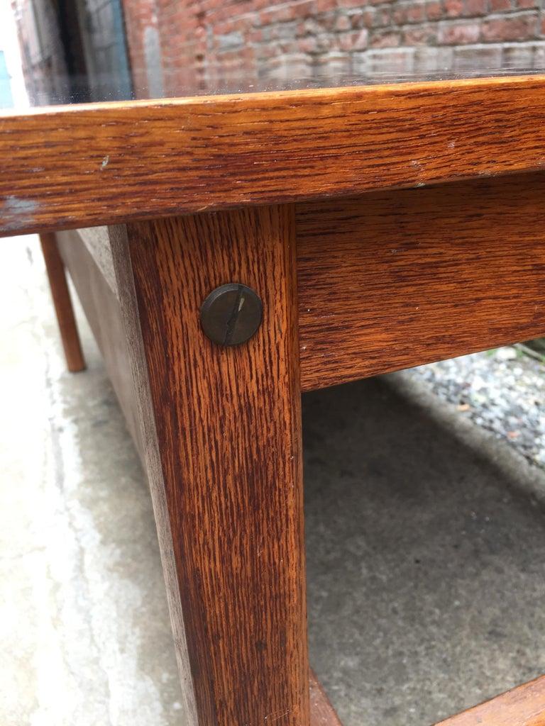 Bernt Petersen Oak and Laminate Desk For Sale 3