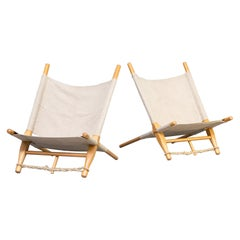1960s Ole Gjerløv-Knudsen Saw Lounge Chairsfor Cado Set of 2
