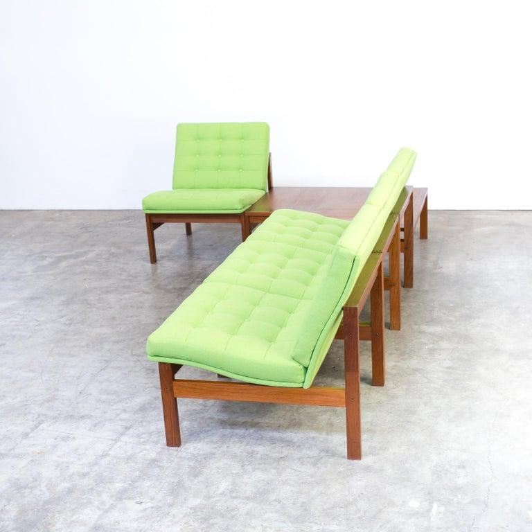 1960s Ole Gjerløv Knudsen & Torben Lind Modular Sofa for France & Son For Sale 4
