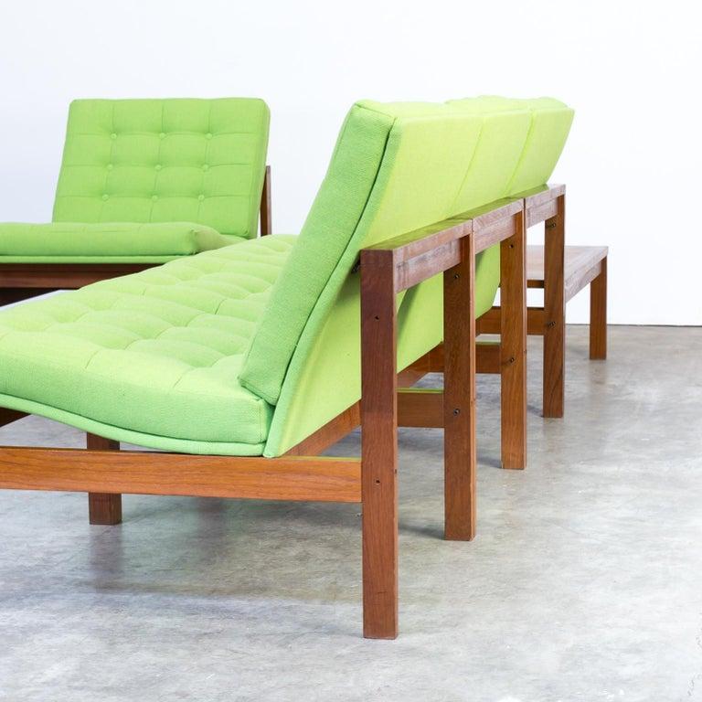 1960s Ole Gjerløv Knudsen & Torben Lind Modular Sofa for France & Son For Sale 5