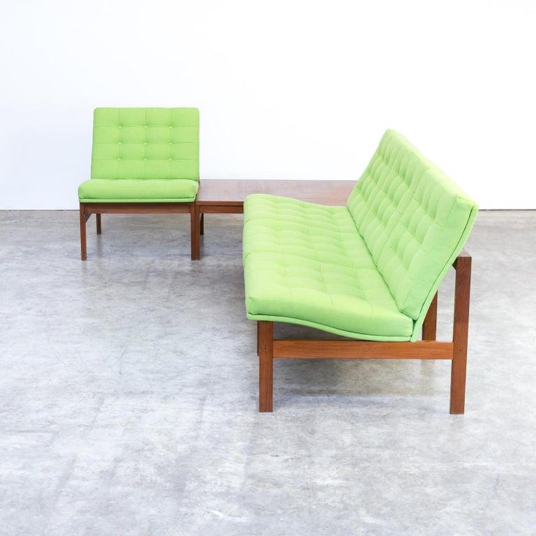 1960s Ole Gjerløv Knudsen & Torben Lind Modular Sofa for France & Son For Sale 6
