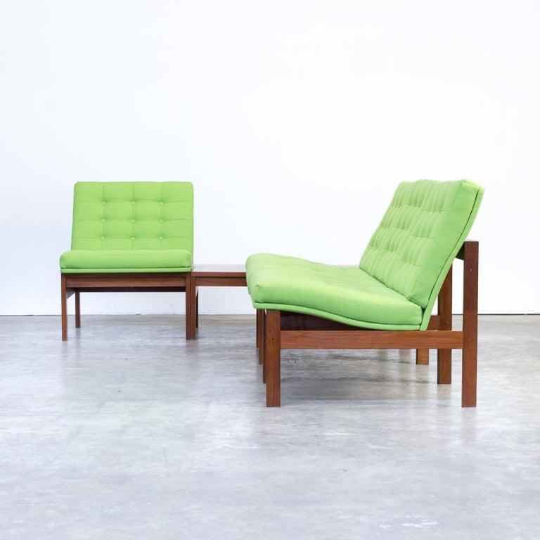 1960s Ole Gjerløv Knudsen & Torben Lind Modular Sofa for France & Son For Sale 7