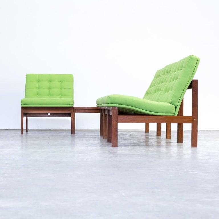 1960s Ole Gjerløv Knudsen & Torben Lind Modular Sofa for France & Son For Sale 8