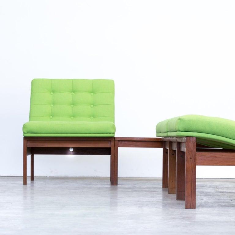 1960s Ole Gjerløv Knudsen & Torben Lind Modular Sofa for France & Son For Sale 9