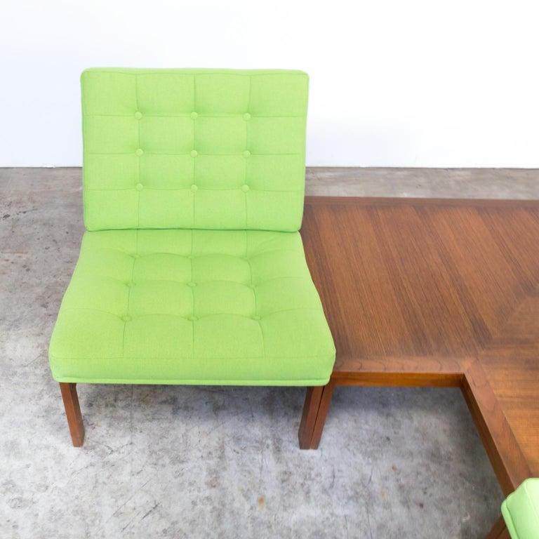 1960s Ole Gjerløv Knudsen & Torben Lind Modular Sofa for France & Son For Sale 13