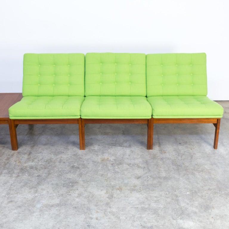 Mid-20th Century 1960s Ole Gjerløv Knudsen & Torben Lind Modular Sofa for France & Son For Sale