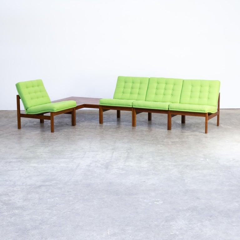 1960s Ole Gjerløv Knudsen & Torben Lind Modular Sofa for France & Son For Sale 1