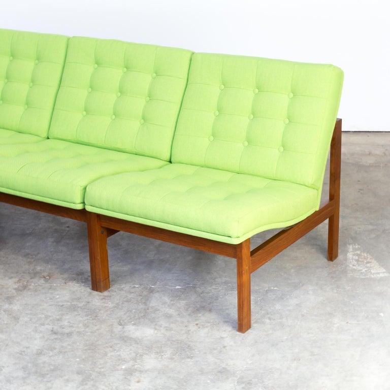 1960s Ole Gjerløv Knudsen & Torben Lind Modular Sofa for France & Son For Sale 2