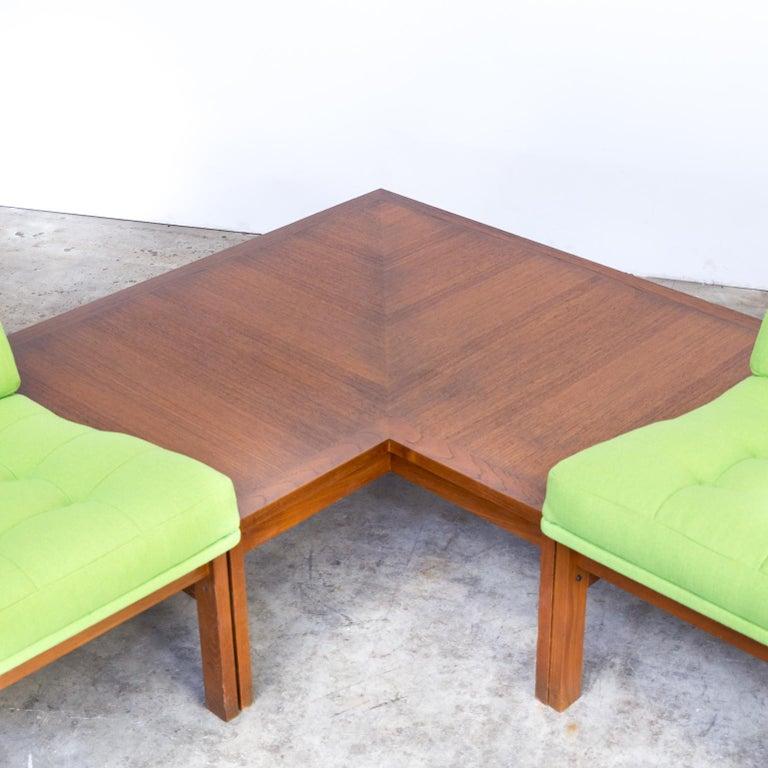 1960s Ole Gjerløv Knudsen & Torben Lind Modular Sofa for France & Son For Sale 3