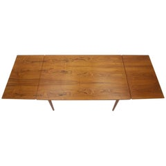 1960s Omann Jun Teak Extendable Dining Table Nr. 51, Denmark