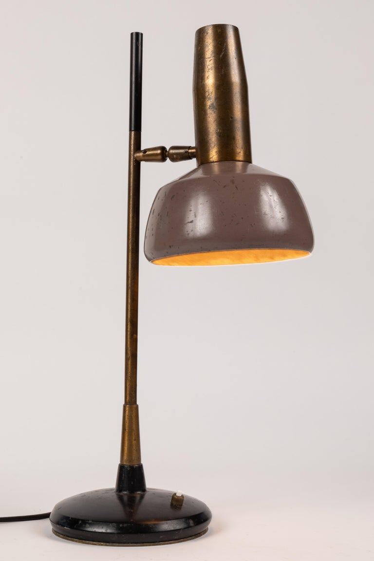 1960s Oscar Torlasco Table Lamp for Lumi In Good Condition For Sale In Glendale, CA