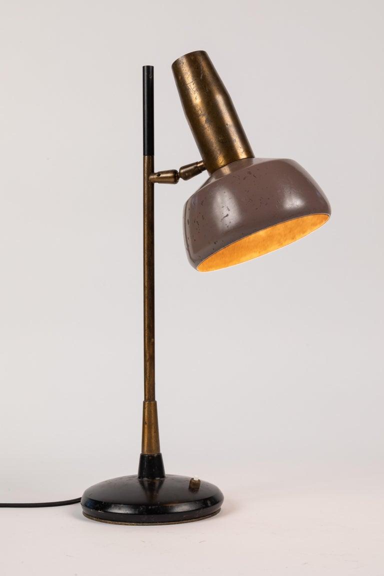 Mid-20th Century 1960s Oscar Torlasco Table Lamp for Lumi For Sale