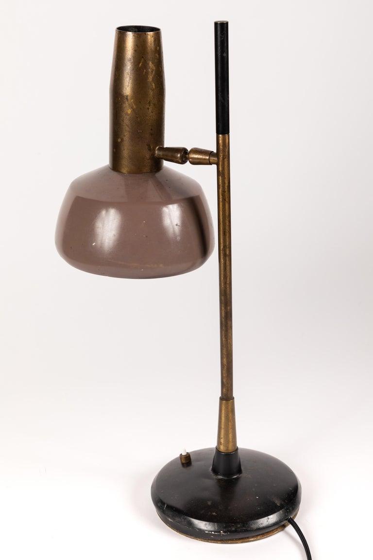 1960s Oscar Torlasco Table Lamp for Lumi For Sale 1