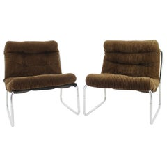 1960s Pair of Bauhaus Side Chairs