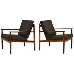 1960s Pair of Danish Armchairs by Grete Jalk