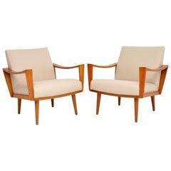 1960s Pair of Dutch Vintage Armchairs