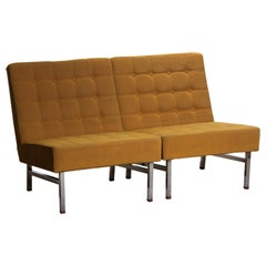 1960s Pair of Lounge or Easy Chairs by Karl Erik Ekselius for JOC Möbler, Sweden