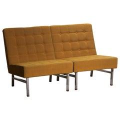 1960s, Pair of Lounge or Easy Chairs by Karl Erik Ekselius for JOC Möbler Sweden