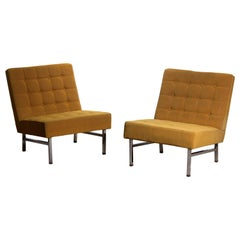 1960s Pair of Lounge or Easy Chairs by Karl Erik Ekselius for JOC Möbler, Sweden