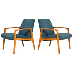 1960s Pair of Swedish Vintage Armchairs