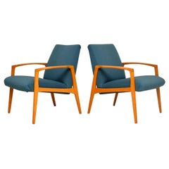 1960s Pair of Swedish Vintage Armchairs