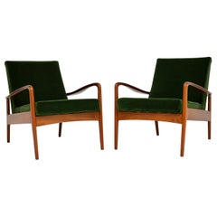 1960s Pair of Vintage Armchairs by Greaves & Thomas